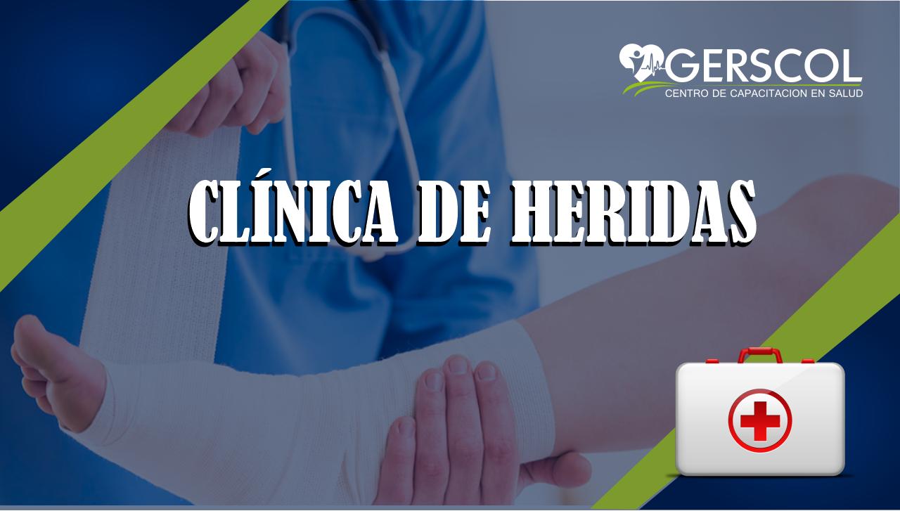 CURSO DE CLÍNICA DE HERIDAS
